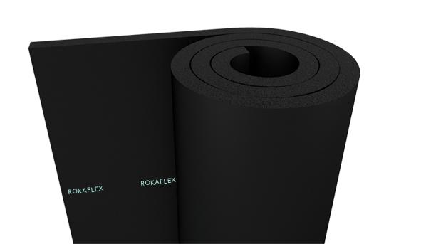 Elastomeric Rubber Foam Insulation Rolls